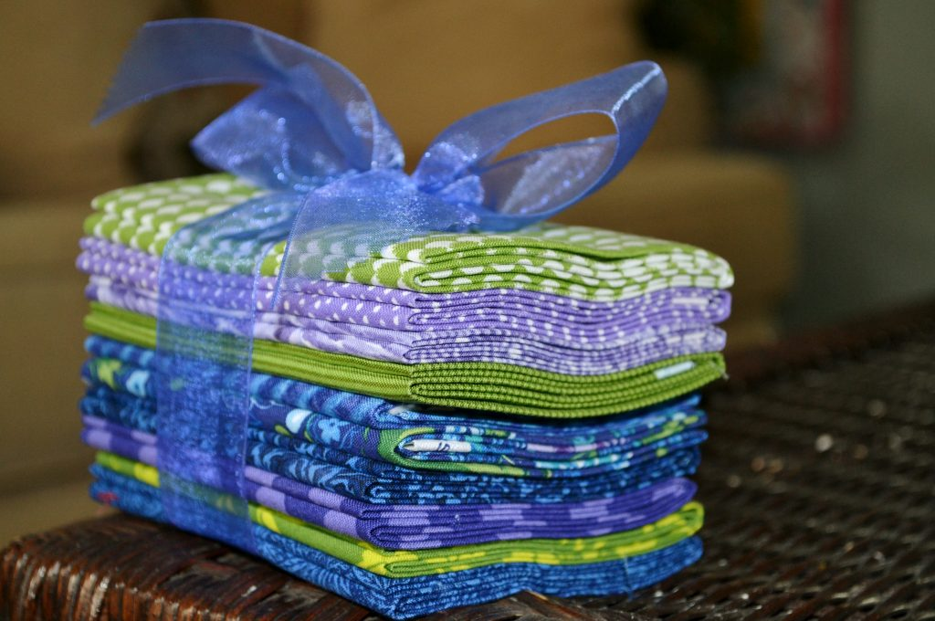 Ten - fat quarter fabric bundle.